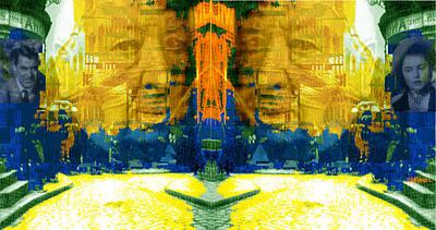 Digital Art - Homage To Sir Alfred by Seth Weaver