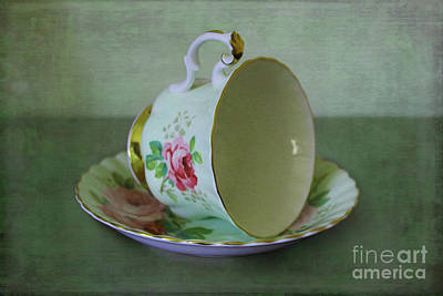 Photograph - Homage To The Tea Cup by Nina Silver