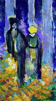 Wall Art - Painting - Homage To Van Gogh by Jen Walls