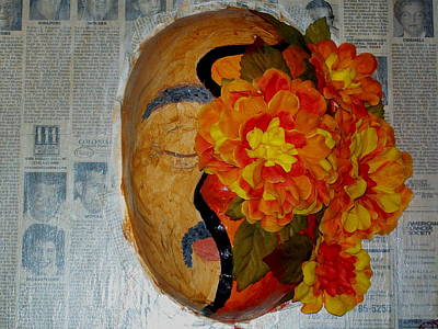 Latino Mixed Media - Homage Two by Laurette Escobar