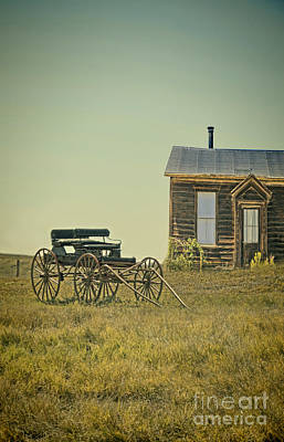 Photograph - Home And Buggy On The Prairie by Jill Battaglia
