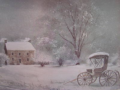 Home At Last Art Print by Charles Roy Smith