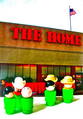 Home Away From Home Art Print by Ricky Sencion