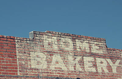 Home Bakery- Photo By Linda Woods Art Print