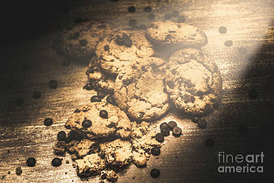 Chocolate Photograph - Home Biscuit Baking by Jorgo Photography - Wall Art Gallery