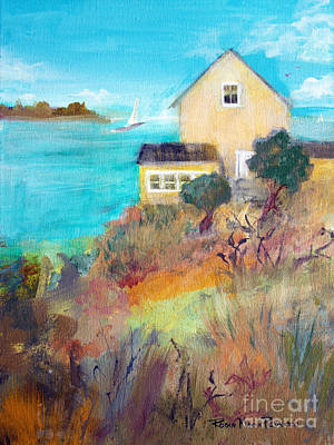 Painting - Home By The Sea by Robin Maria Pedrero