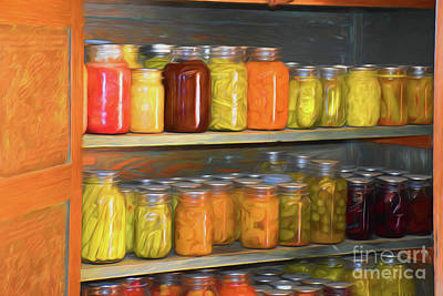Photograph - Home Canning 11718 by Ray Shrewsberry