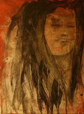 Badass Painting - Happy Rasta  by Dawn Pascale