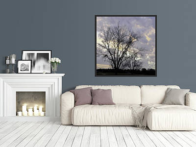 Photograph - Home Decor With Lavender Sky by Carla Parris