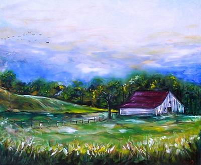 Art Print featuring the painting Home by Emery Franklin
