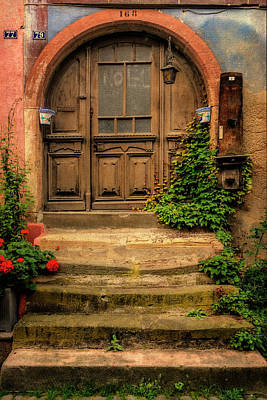 Photograph - Home Entry Eguisheim France_dsc7271_16 by Greg Kluempers