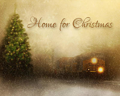 Photograph - Home For Christmas by TnBackroadsPhotos