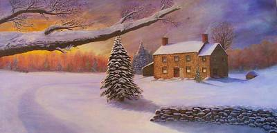 Painting - Home For The Holidays by Jean LeBaron