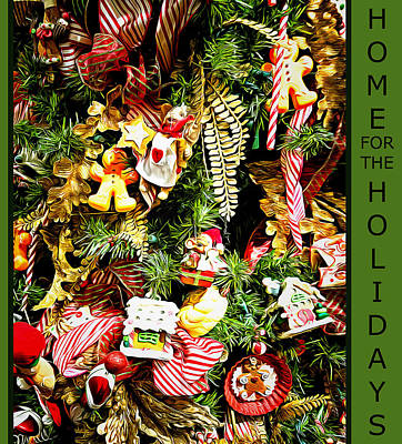 Photograph - Home For The Holidays by Leslie Montgomery