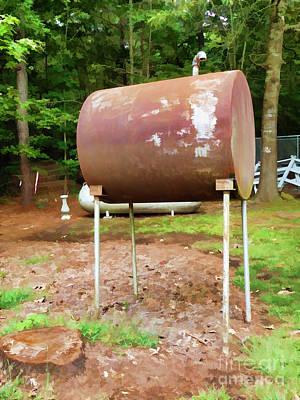 Home Heating Oil Tank 2 Art Print