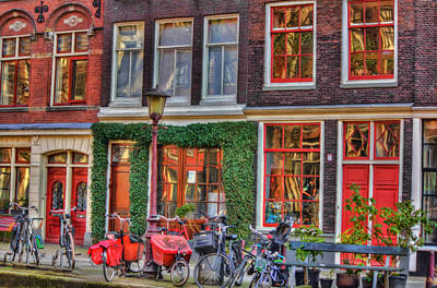 Photograph - Home In Amsterdam by Nadia Sanowar
