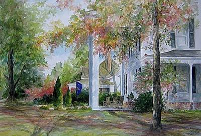Painting - home in Cheraw by Gloria Turner