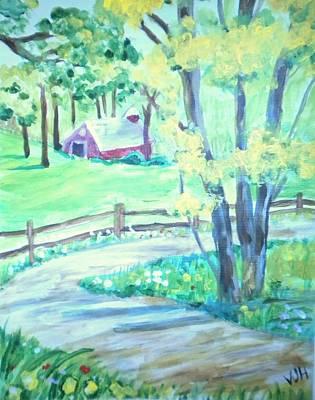 Home In Kansas Art Print