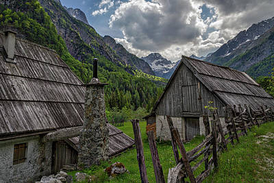 Photograph - Home In The Slovenian Alps #2 by Stuart Litoff
