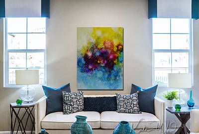 Photograph - Home Interior With Spring Into Summer by Kate Word