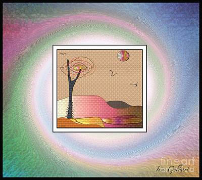 Digital Art - Home Is Were Your Heart Is by Iris Gelbart