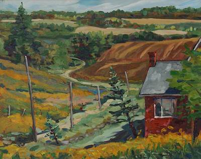 Painting - Home Is Where The Art Is by Phil Chadwick