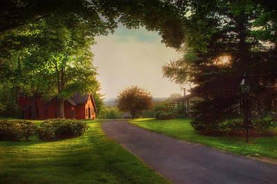 Country Scene Photograph - Home by Joann Vitali