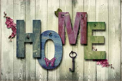 Photograph - Home by Joy of Life Art Gallery