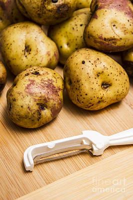 Tuber Photograph - Home Made Meals by Jorgo Photography - Wall Art Gallery