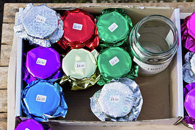 Local Food Photograph - Home Made Preserves by Tom Gowanlock