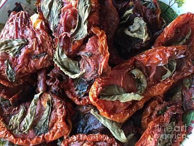 Home Made Sun  Dried Tomatoes Art Print by Viktoriya Sirris