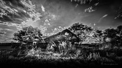 Abandoned Ranch Photograph - Home by Marvin Spates