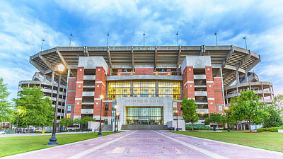 Home Of Champions -- Bryant-denny Stadium Art Print by Stephen Stookey