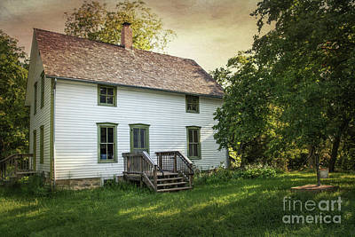 Photograph - Home Of Robert Hall Pearson by Lynn Sprowl