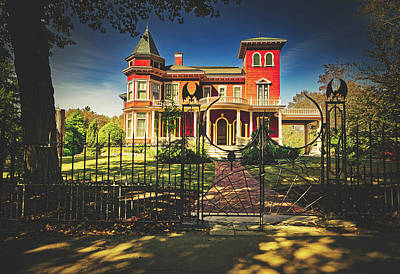 Photograph - Home Of Stephen King by Library Of Congress