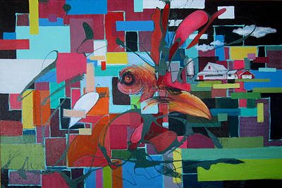 Painting - Home Of The Chicken by Jeff Seaberg