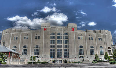 Home Of The Huskers  Art Print