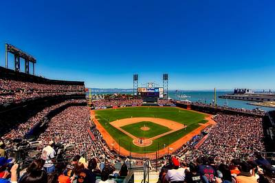 Home Of The San Francisco Giants Art Print