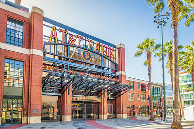 Photograph - Home Of The Sf Giants by JR Photography