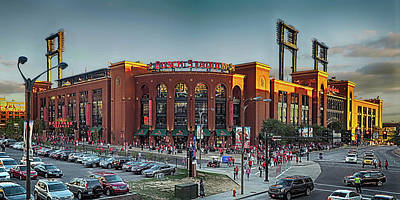 Photograph - Home Of The St. Louis Cardinals by C H Apperson