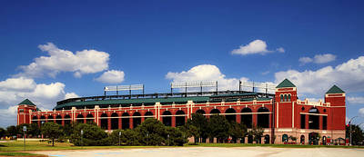 Photograph - Home Of The Texas Rangers by Mountain Dreams