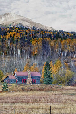 Gore Range Photograph - Home On The Gore Range II by Brian Kerls