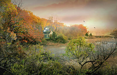 Photograph - Home On The Marsh by Diana Angstadt