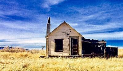 Photograph - Home On The Prairie by Jennifer Lake
