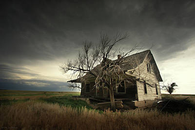 House On The Hill Photograph - Home On The Range by Brian Gustafson