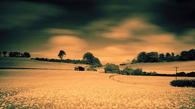 Infra-red Photograph - Home On The Range II by Nigel Jones