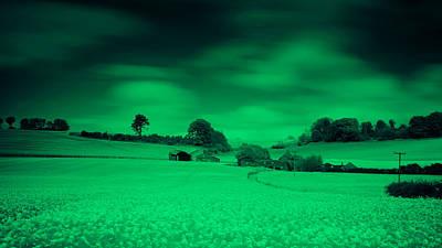 Infra-red Photograph - Home On The Range IIi by Nigel Jones