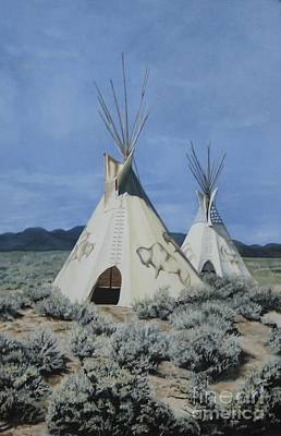 Usa Painting - Home On The Range by Mary Rogers