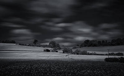 Infra-red Photograph - Home On The Range by Nigel Jones