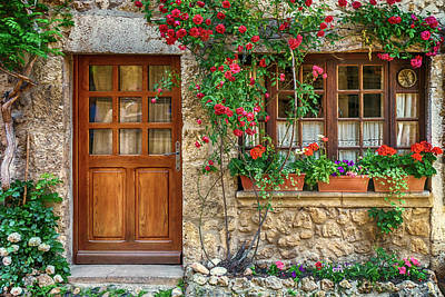 Photograph - Home Perouges France_dsc6865_16 by Greg Kluempers
